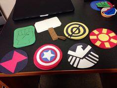 The Avengers Door Decs! #TheAvengers #RA #DoorDecs