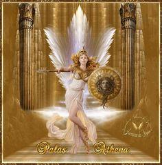 Portal de Luz: Atena e a elevação espiritual