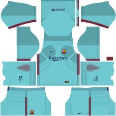 6005d62ec Dream League Soccer Barcelona FC Kits Away 2018