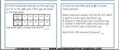 5th Grade Common Core Math Algebra- Homework or Morning Work Printable Worksheets with answer keys