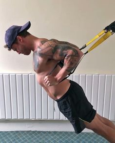 Here's a TRX press variation and why it's effective below. Stretching of the chest At the bottom of the movement it's possible to get the shoulders and elbows right back behind the body to open-up and stretch the chest muscles *refer to end of vid for demonstration More emphasis on the chest muscles Pushing down and away to contract back-up places more emphasis on the chest muscles and less on the front deltoids  Squeezing of the... (CLICK THE LINK TO CONTINUE READING)
