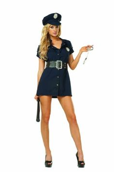 RG Costumes In The Line Of Duty Navy Blue Small24