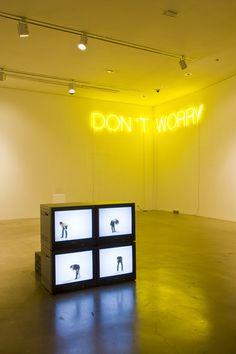 Installation view, Artsonje Center, Seoul, Korea, 2009 -Martin Creed | #Neon / #Art