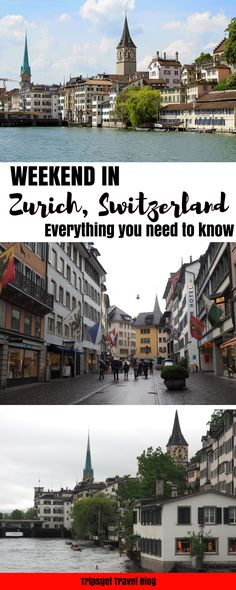Weekend in Zurich, Switzerland. What to do when it rains? Rainy Zurich