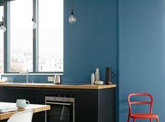 wandgestaltung mit farbe blau schattierungen, 9 besten no. 13 stolzer wellenreiter bilder auf pinterest | waves, Design ideen
