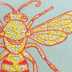 Bobbin & Bumble - Bee Cushion