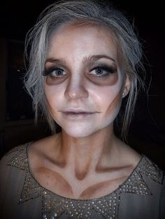 Ghost makeup by Theres Engberg