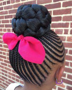 Love this cute style by @kiakhameleon - Black Hair Information