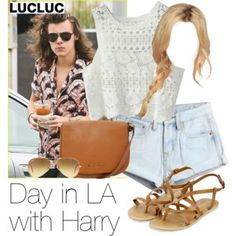 Day in LA with Harry
