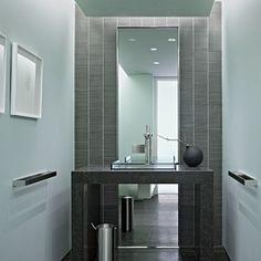 Bauhaus Look Gästetoilette By Matarozzi Pelsinger Builders