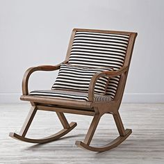 love this as a piece you could use in a nursery and transition to anywhere in the home! // Bakersfield Rocking Chair