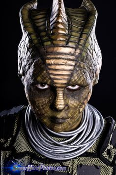 Silurian Warrior Doctor Who Cosplay http://geekxgirls.com/article.php?ID=1948