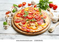 Pizza Stock Photos, Images, & Pictures | Shutterstock