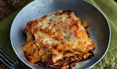 Anna del Conte's lasagne al forno. Photograph: Jean Cazals for the Observer