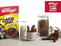 Crunchy Cocoa Pops Biscotti with Ginger South African Desserts, South African Recipes, Cereal Mix, Date Recipes, Biscuit Recipe, Cooking Classes, Morning Coffee, Easy Desserts, Biscotti