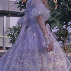 Kawaii Dress, Fairytale Dress, Princess Aesthetic, Glitter Dress, Aesthetic Colors, Bling Bling, Pretty Dresses, Sparkles, Tulle