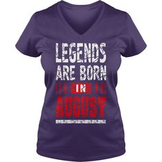 Legends Are Born In August - Mens V-Neck T-Shirt by Canvas Rh1E7x #gift #ideas #Popular #Everything #Videos #Shop #Animals #pets #Architecture #Art #Cars #motorcycles #Celebrities #DIY #crafts #Design #Education #Entertainment #Food #drink #Gardening #Geek #Hair #beauty #Health #fitness #History #Holidays #events #Home decor #Humor #Illustrations #posters #Kids #parenting #Men #Outdoors #Photography #Products #Quotes #Science #nature #Sports #Tattoos #Technology #Travel #Weddings #Women