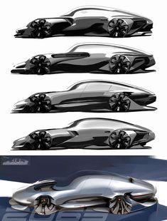 Porsche 911 Concept Design Sketches by Min Byung Yoon