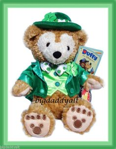 Disney St. Patrick's Day Backgrounds | duffy bear 12 inch plush walt disney world exclusive limited edition ...