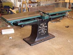 """Hall and Brown 12"""" jointer restoration - Power and Hand Tools - messing-about Forums"""