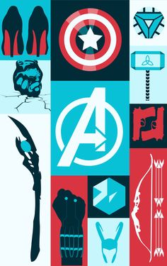 snomanoff:avengers minimalist poster