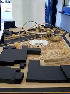 Maquette Architecture, Black Architecture, Architecture Details, Landscape Architecture, Interior Architecture, Landscape Design, Warehouse Living, Urban Design Diagram, Interior Design Presentation