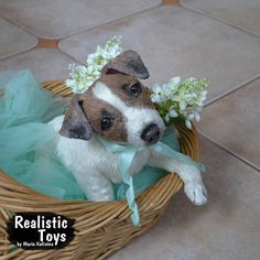 Toffee Puppy Jack Russell 11.8 inches 30 centimeters
