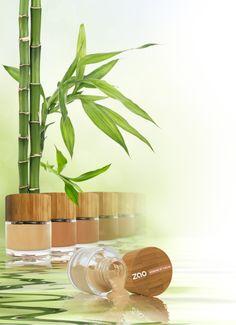 Fond de Teint ZAO MAKE UP à la sicile de Bambou