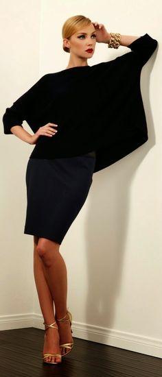 Women's fashion | Stylish black outfit