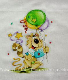 Coisas da Nil - Pintura em tecido: Clima de Carnaval!!!