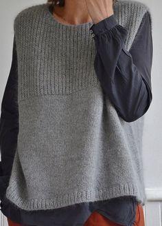 Knit Vest Pattern, Sweater Knitting Patterns, Knitting Designs, Knit Patterns, Baby Knitting, Crochet Pattern, Knit Fashion, Style Fashion, Diy Clothes