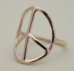 Peace. Ring. everyone shud wear one