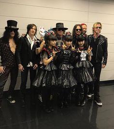 GNR & Baby Metal #NITL #JAPAN  Beta Lebeis
