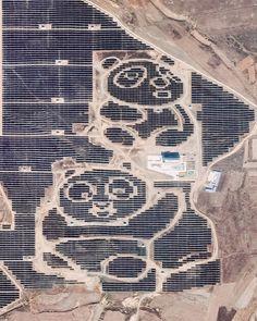"""Solar Pandas"" in Datong, Northern China | Revue"