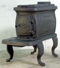 Cast iron stove Saskatoon Saskatchewan Canada   cast iron чугун ...