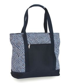Look what I found on #zulily! Blue Diamond Lido Double Tote #zulilyfinds