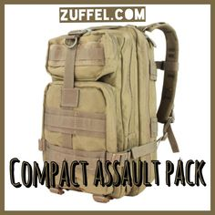 Looking for a Christmas gift for him? Get it at http://zuffel.com/collections/backpacks/products/condor-compact-assault-pack-tan Concealed Carry Shoulder Bag, tactical, Cheap Gear, Thoughtful gifts for him, birthday gift for him, military, milspec, tacticool, tactical bag, tactical gear geardo guns gun gear gear whore hiking geocache geocaching man bag man purse ccw concealed concealed carry edc every day carry nra prepper survival doomsday emergency bag gift ideas bug out bag gifts for him