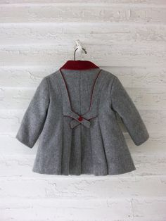 Vintage Toddler Coat ... Classic 1960's Wool by sparvintheieletree