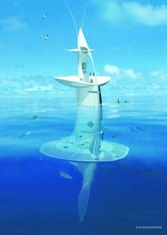 Sci Fi to Reality: The SeaOrbiter Ocean Explorer | Designbuzz : Design ideas and concepts