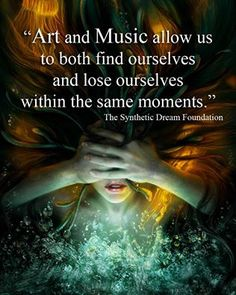 The passion Within Art and Music