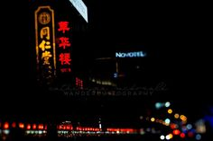 Donghuamen Night Market - Photographic Print - Beijing, China, wanderlust, travel, Art, Decor, lights, black, bokeh, Photography, asia,