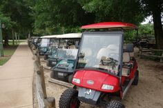Golf Cart Parking Outpost Disney's Fort Wilderness Resort from yourfirstvisit.net