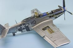 North American P-51D Mustang 1/32 Tamiya by Phoenixs from http://forum.largescaleplanes.com/