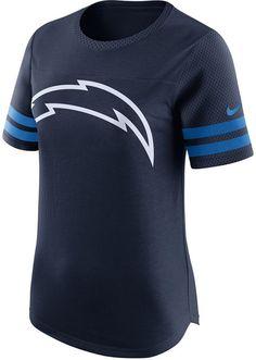 adacd2f6 Nike Women's San Diego Chargers Gear Up Fan Top T-Shirt. Shop My Style · Women's  NFL Sports Gear