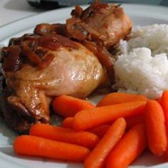 Slow Cooker Adobo Chicken Allrecipes.com