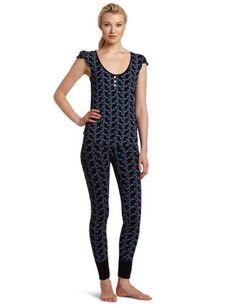 97b5e53adf940 Betsey Johnson Women s Stretch Print Pajama Set