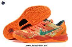 Discount Nike Zoom Kobe 8 VIII 555035-800 Fire Flame 2013 Basketball Shoes Style