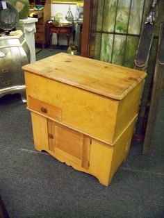 Antique Lift Top Chest Dough Boy. Www.chconsignment.com. Sell AntiquesAntique  Furniture