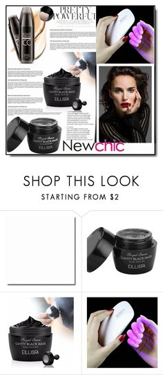 """Newchic,Beauty set 26."" by nudzi-ded ❤ liked on Polyvore featuring beauty"