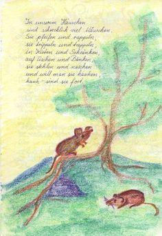 Waldorf ~ 4th grade ~ Human & Animal ~ Mouse ~ main lesson book